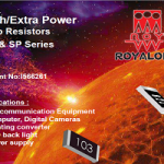 Royalohm – New product: Extra/High Power Chip Resistors